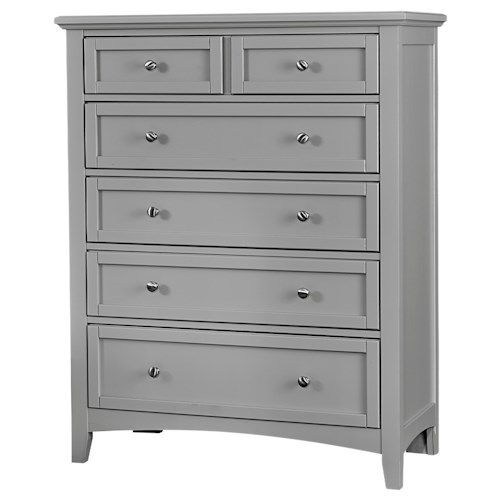 Vaughan Bassett Bonanza Casual 5-Drawer Chest
