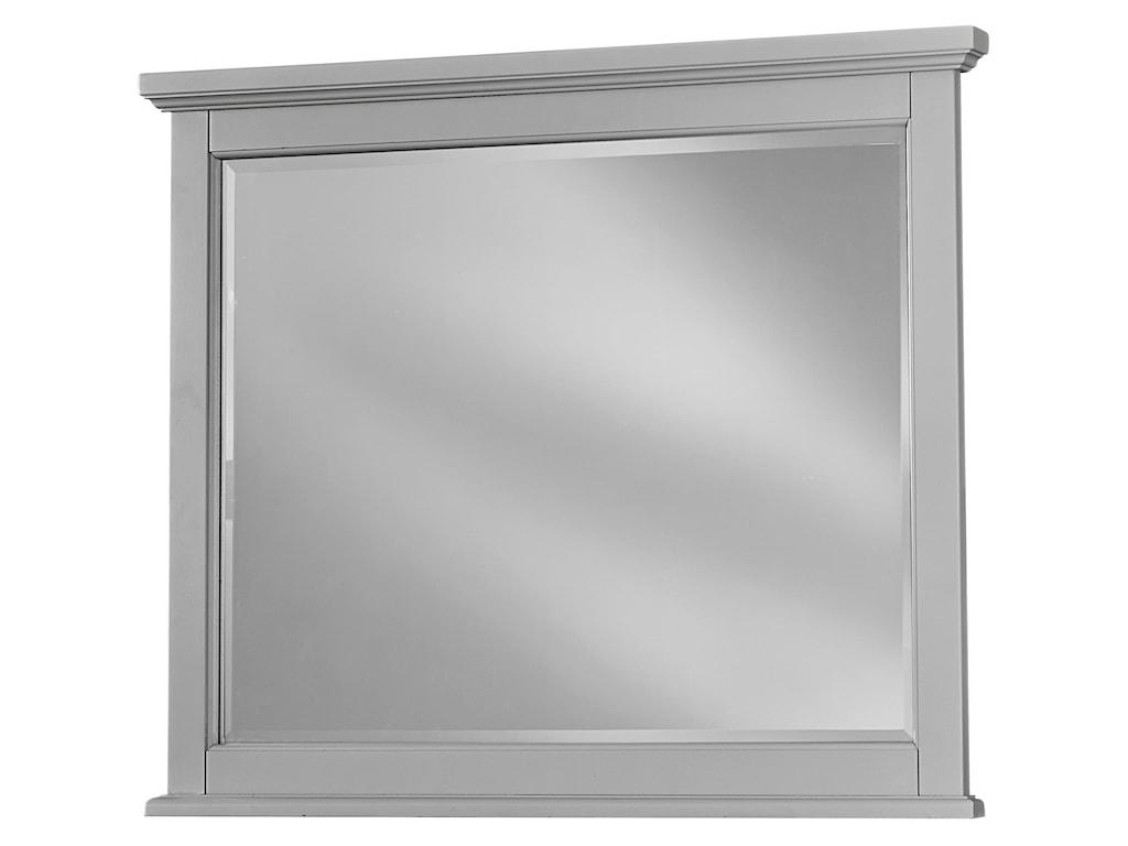 Vaughan Bassett BonanzaLandscape Mirror - Bevel Glass