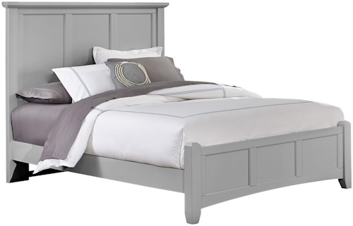 Vaughan Bassett Bonanza King Mansion Bed with Low Profile Footboard