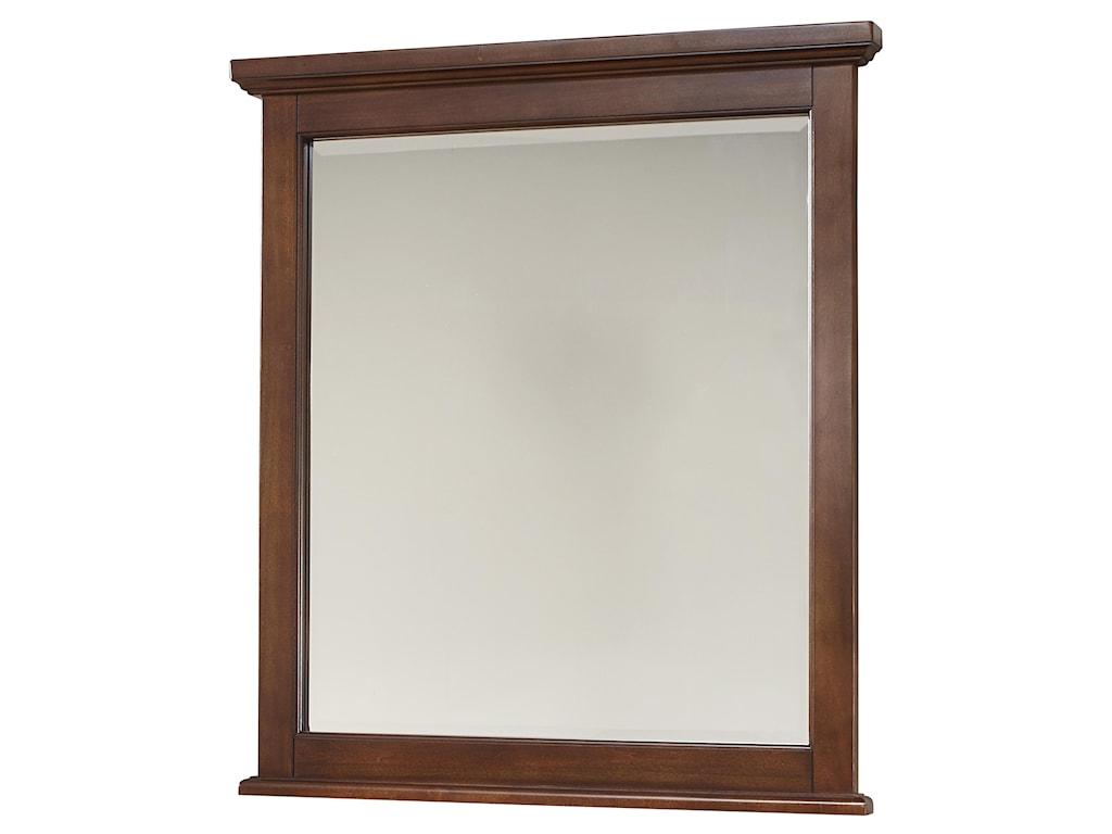 Vaughan Bassett BonanzaDouble Dresser & Small Landscape Mirror