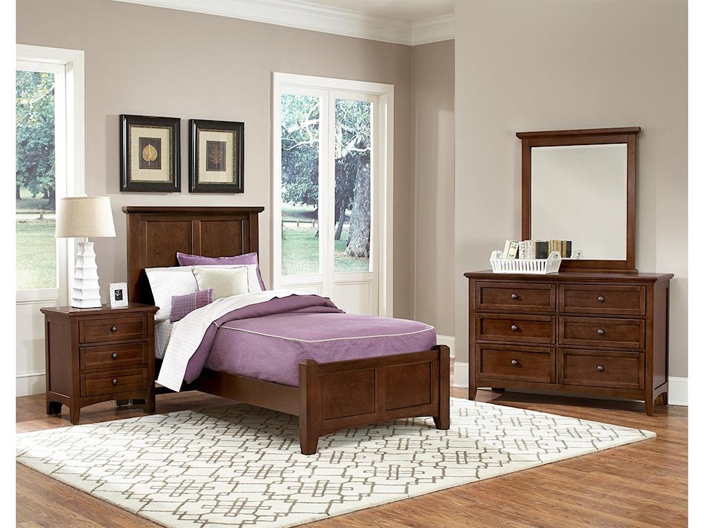 Vaughan Bassett BonanzaDouble Dresser - 6 Drawers