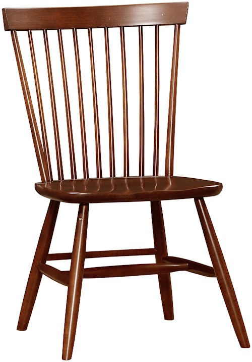 Vaughan Bassett Bonanza Desk Chair with Spindle Back