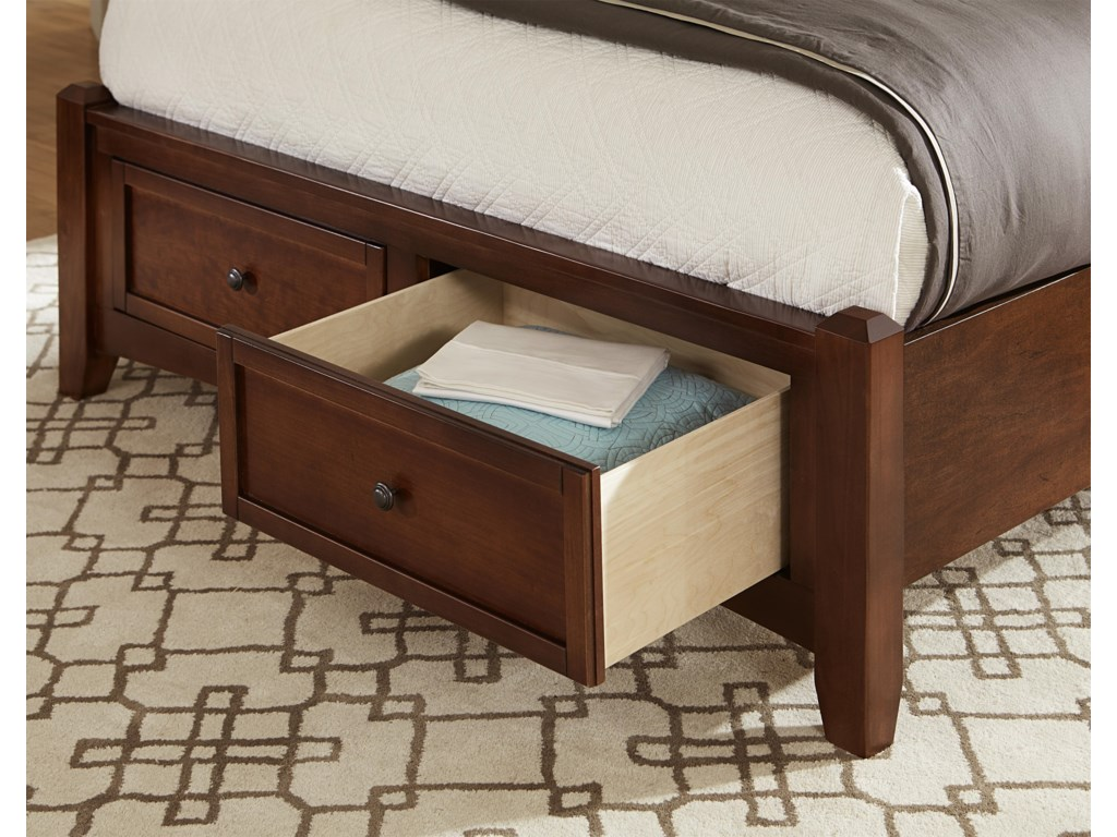 Vaughan Bassett BonanzaKing Mansion Storage Bed