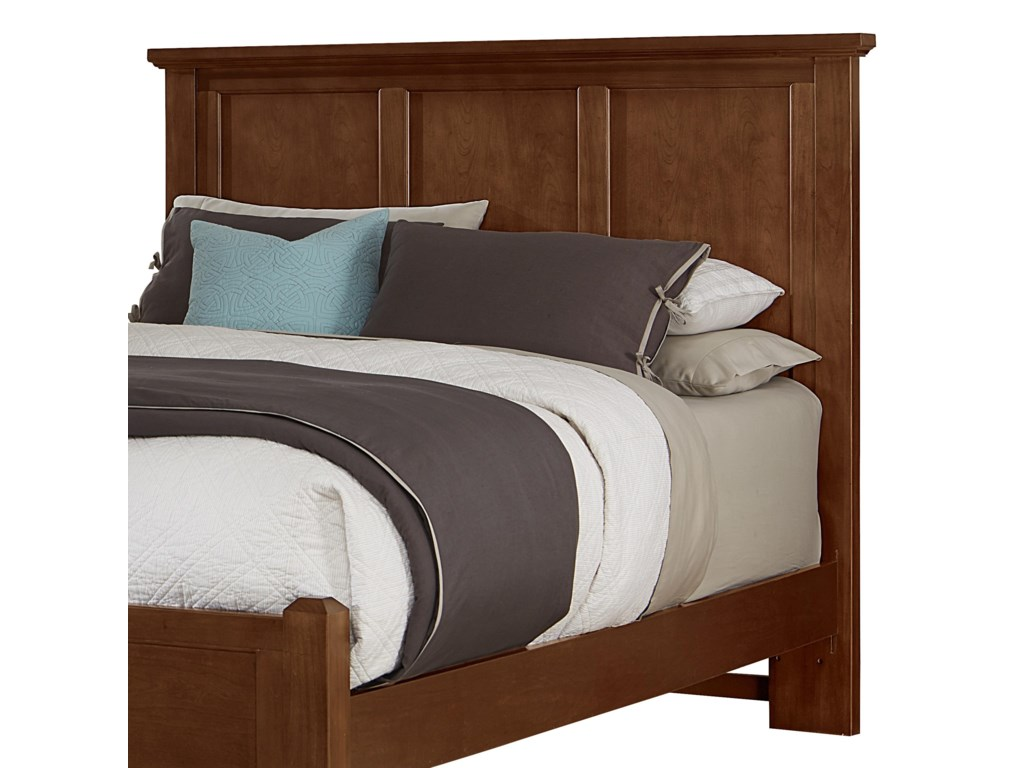 Vaughan Bassett BunkhouseQueen Mansion Headboard