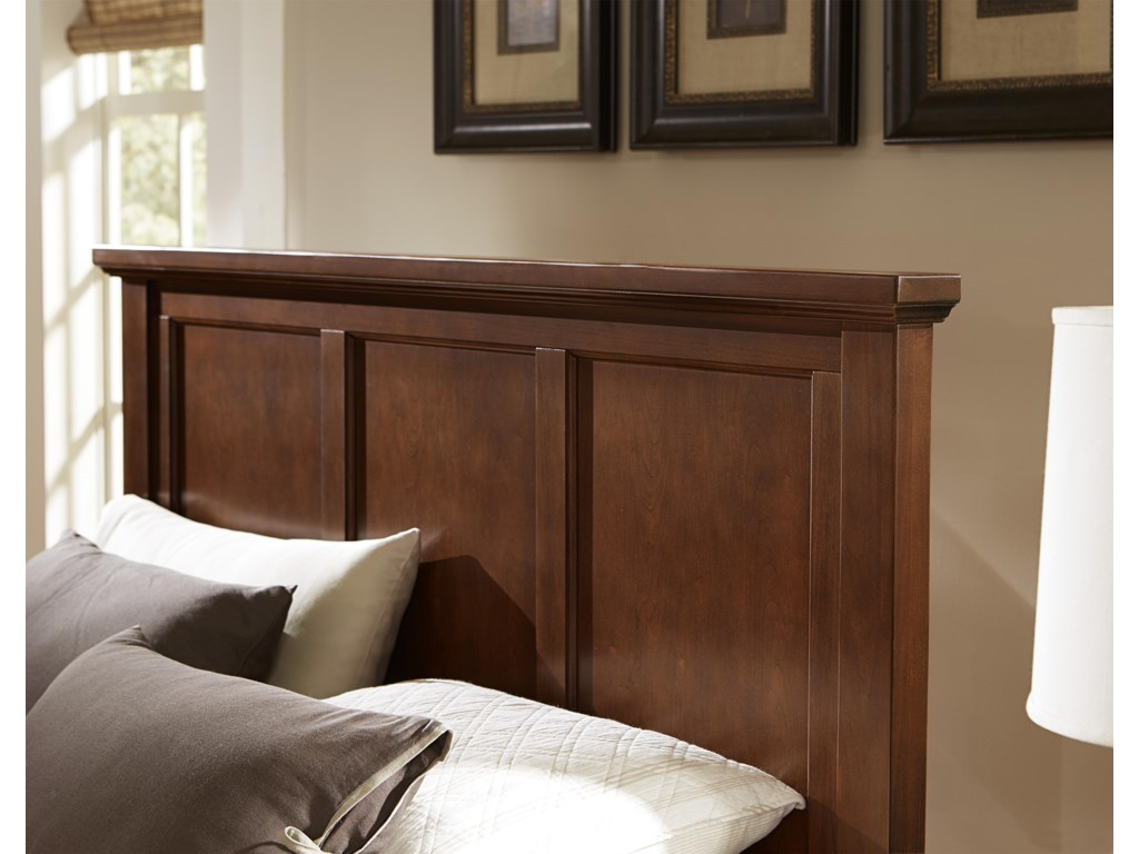 Vaughan Bassett BonanzaKing/California King Mansion Headboard
