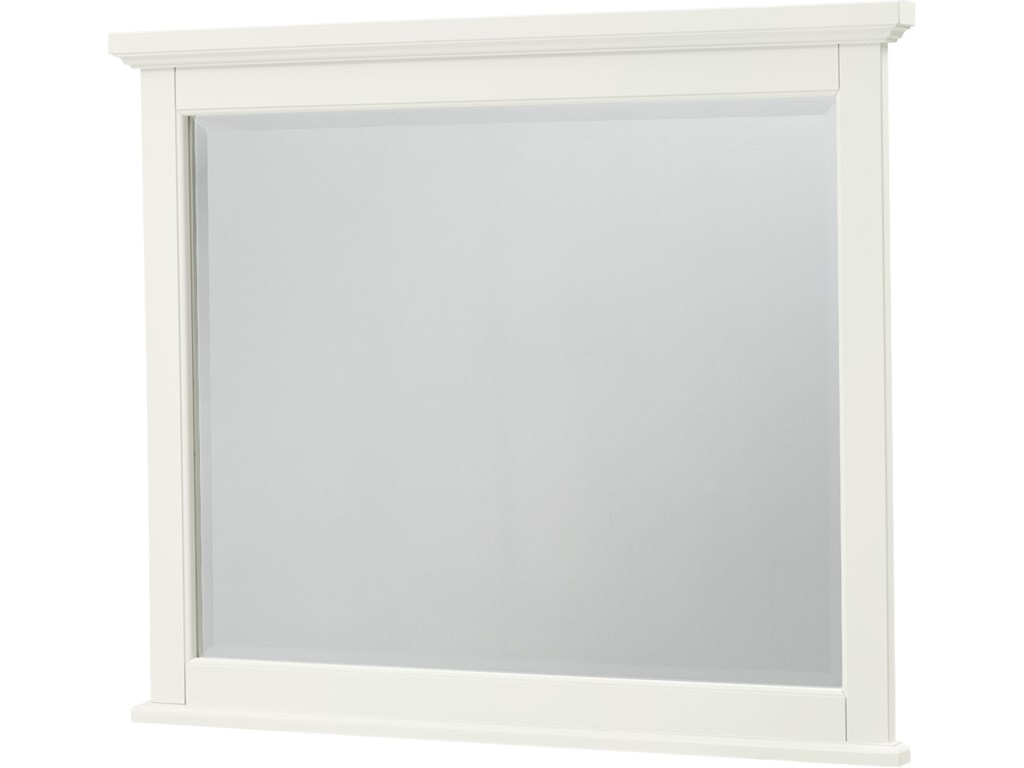 Vaughan Bassett BonanzaLandscape Mirror - Bevel Glass