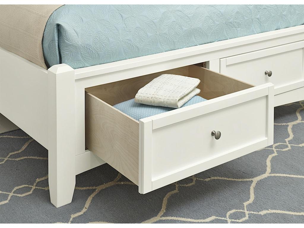 Vaughan Bassett BonanzaKing Mansion Storage Bed