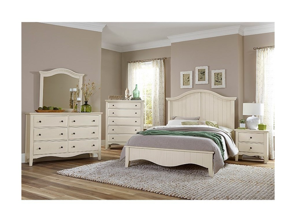 Vaughan Bassett Casual RetreatKing Bedroom Group