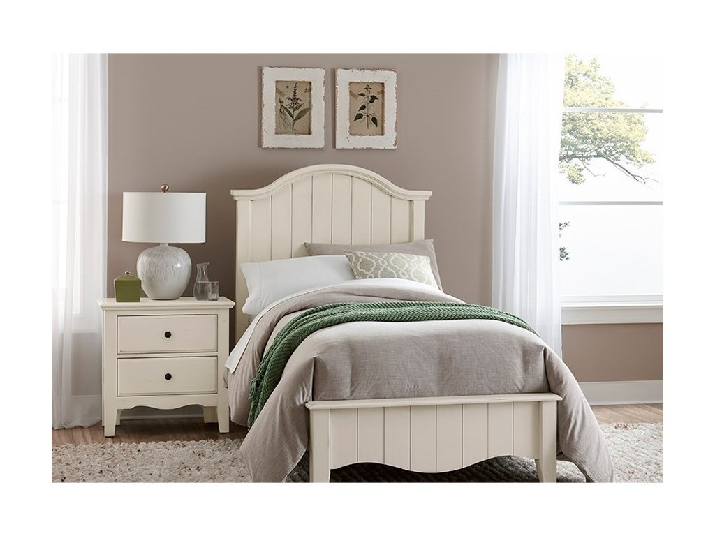 Vaughan Bassett Casual RetreatTwin Arch Bed