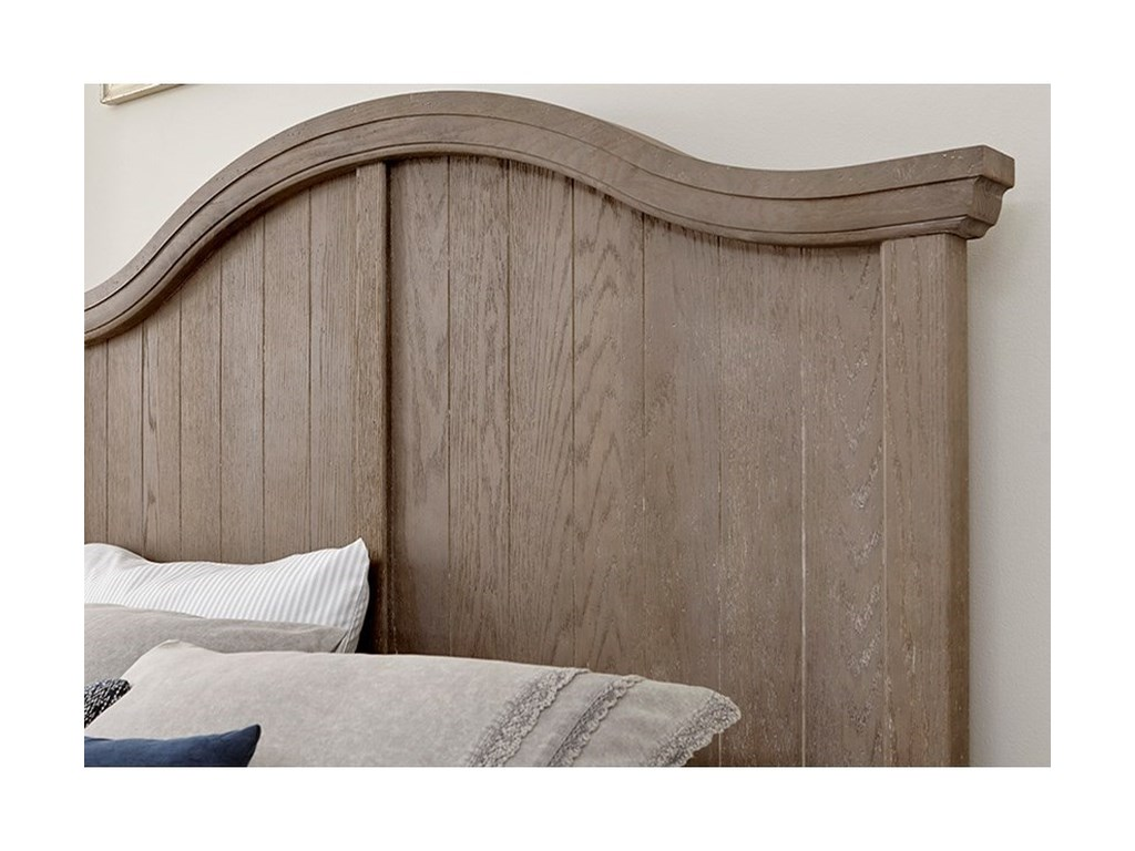 Vaughan Bassett Casual RetreatQueen Arch Bed