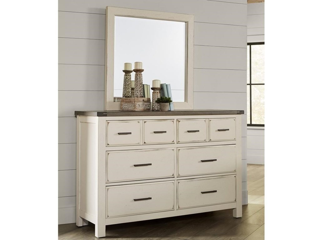 Vaughan Bassett Chestnut Creek5-Drawer Dresser
