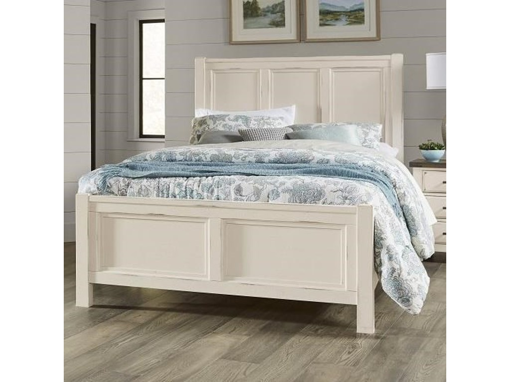 Vaughan Bassett Chestnut CreekQueen Panel Bed