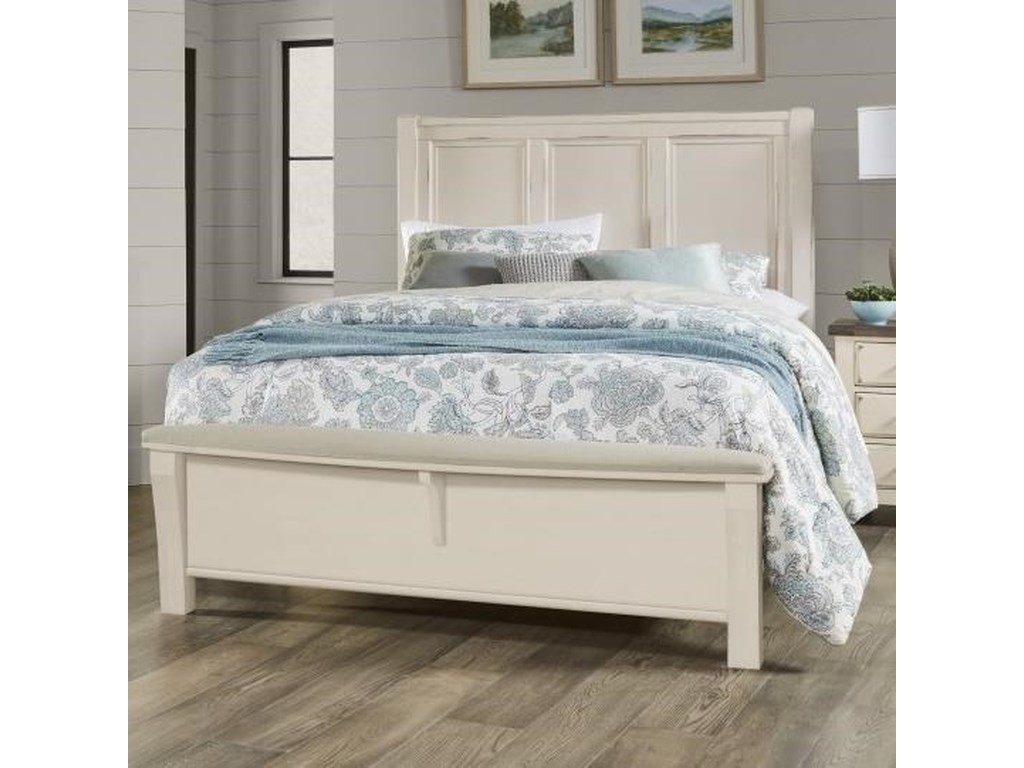 Vaughan Bassett Chestnut CreekKing Panel Bed