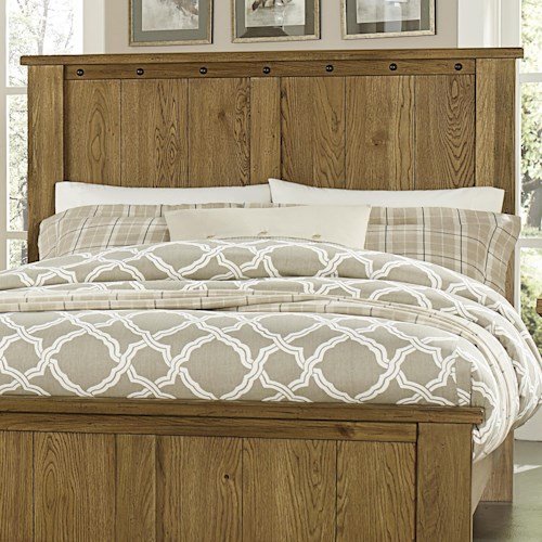 Vaughan Bassett Collaboration Rustic Full/Queen Panel Headboard