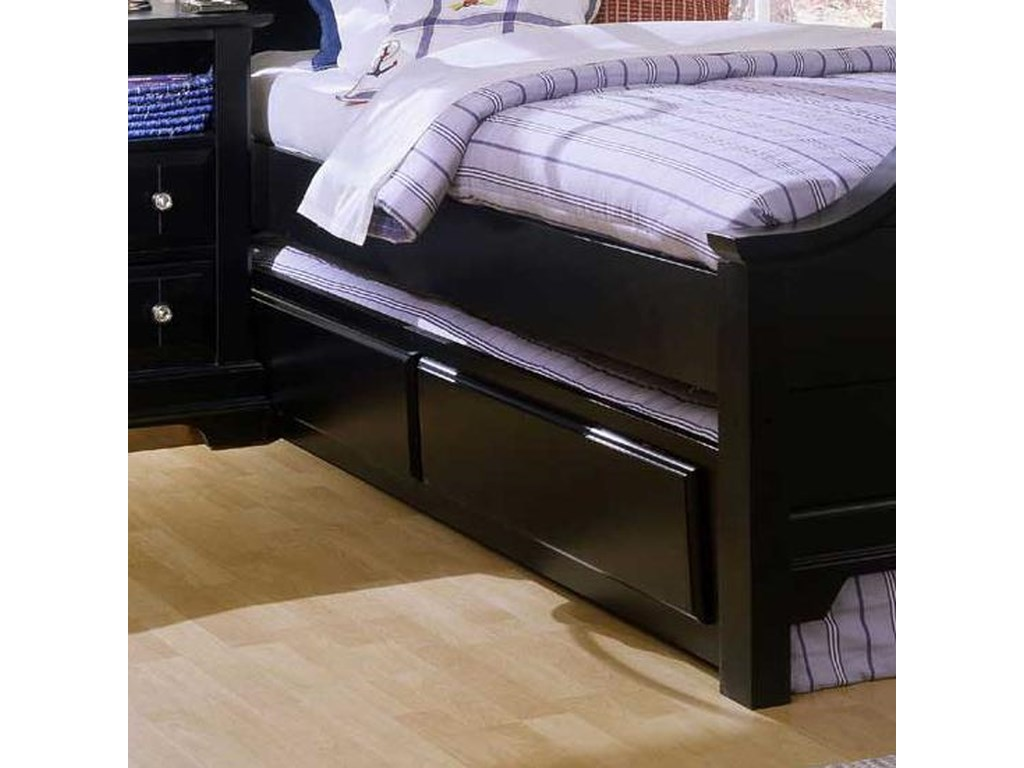 Vaughan Bassett CottageTrundle Unit & Face Panel