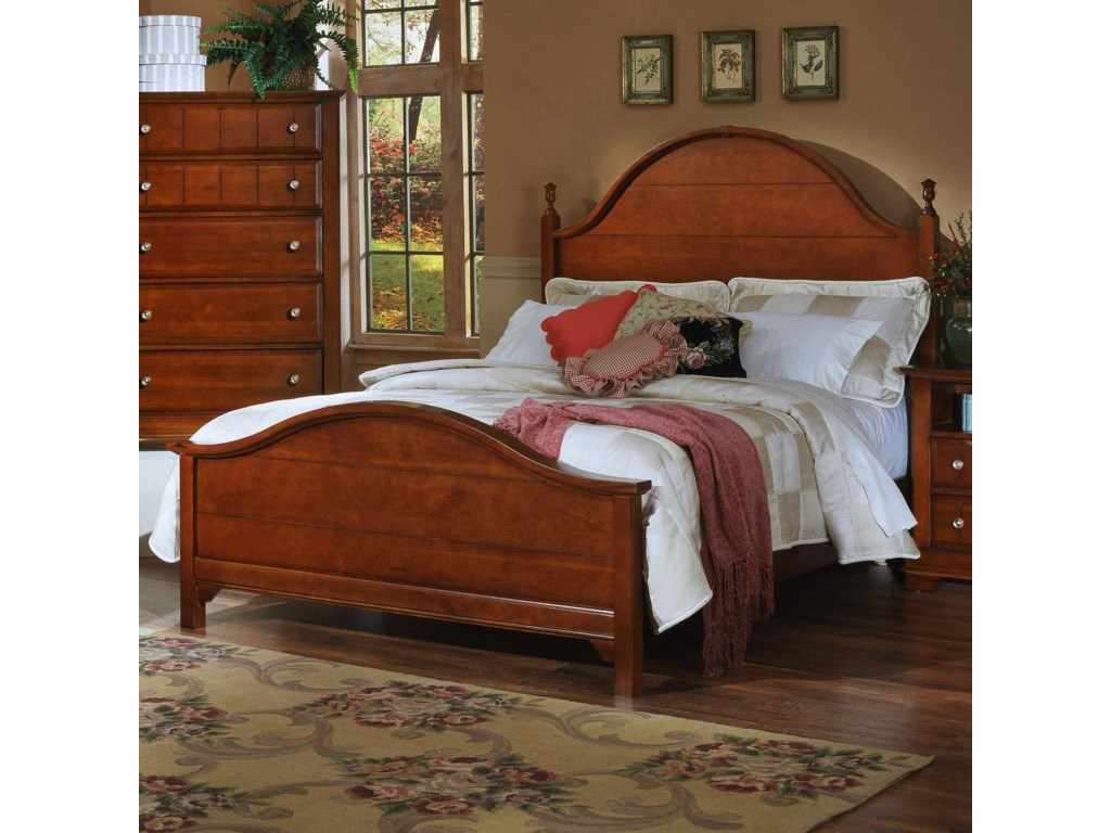Vaughan Bassett CottageKing Panel Bed