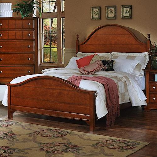 Vaughan Bassett Cottage King Panel Bed