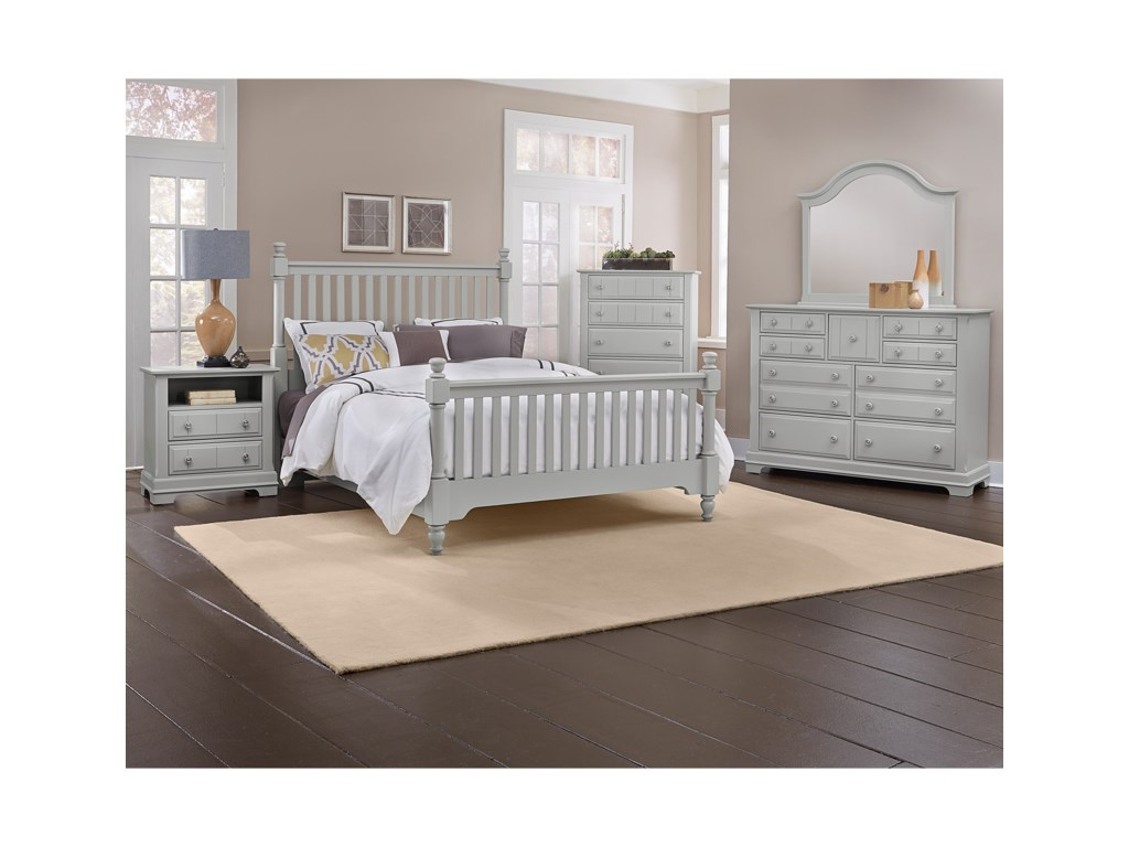 Vaughan Bassett CottageCalifornia King Bedroom Group