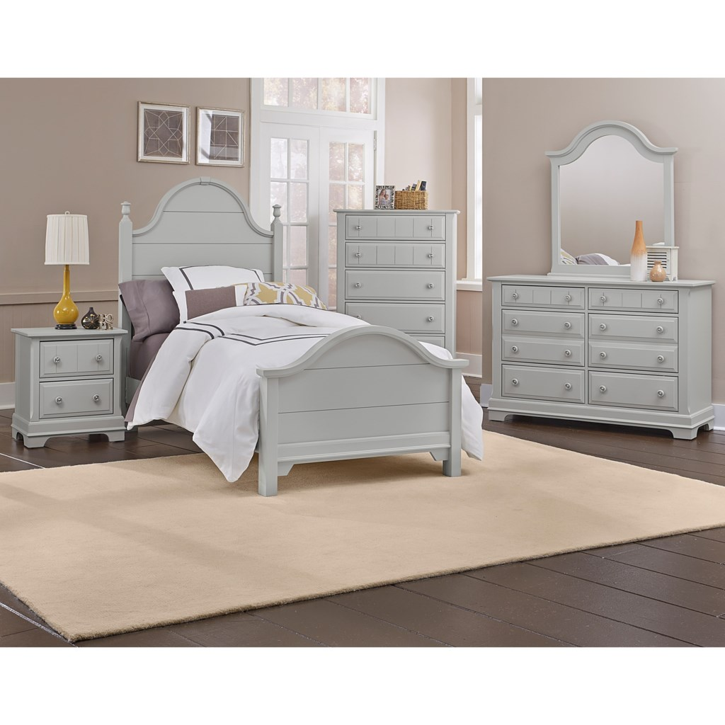 vaughan bassett cottage queen bedroom group becker furniture world