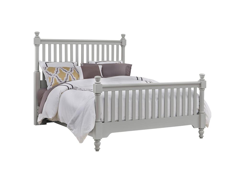 Vaughan Bassett CottageFull Slat Poster Bed