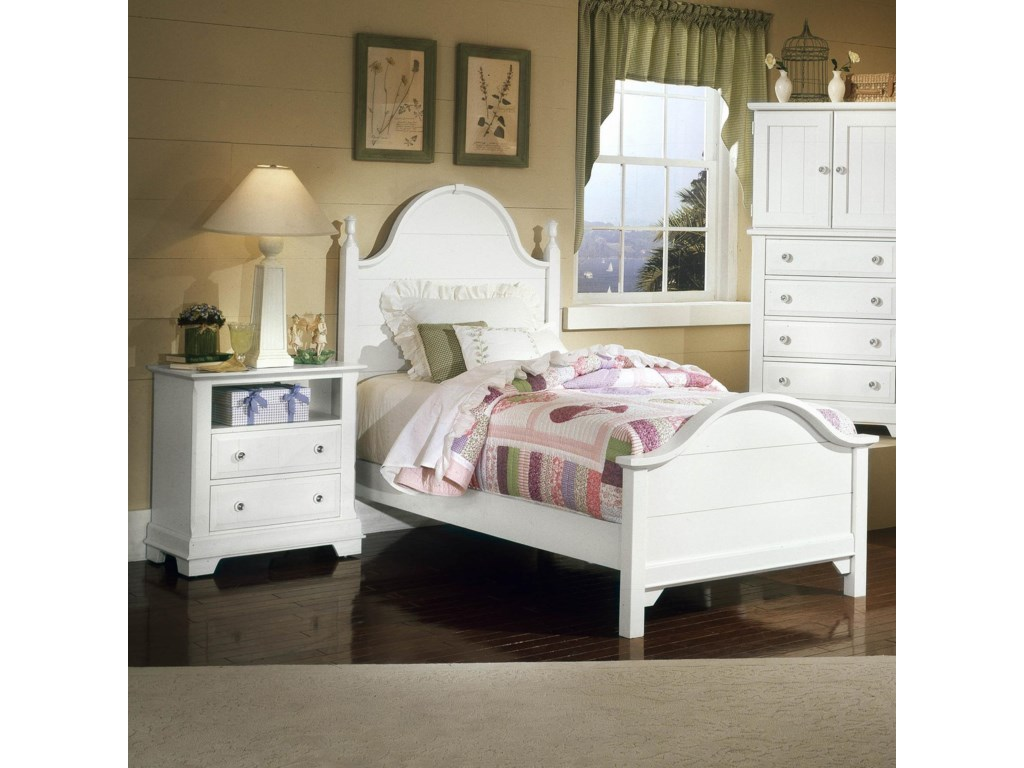 Vaughan Bassett CottageTwin Panel Bed