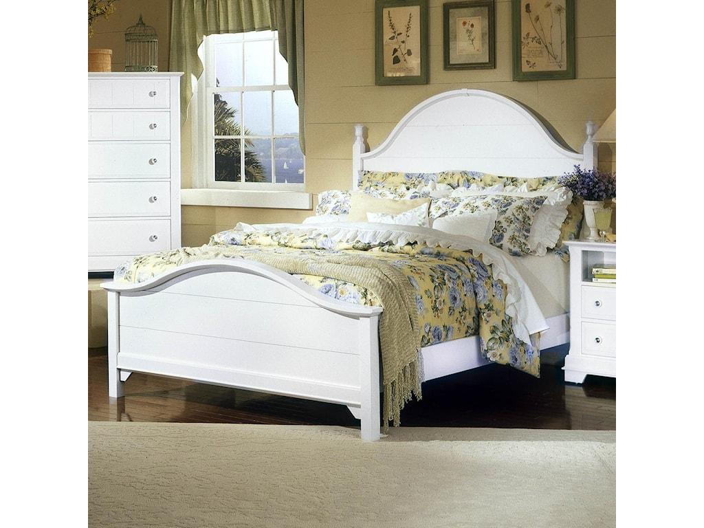 Vaughan Bassett CottageFull Panel Bed