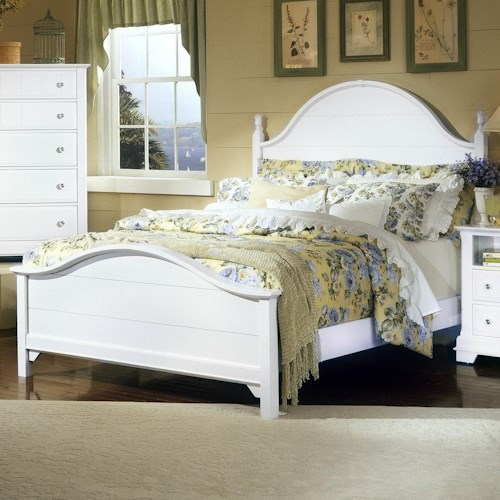 Vaughan Bassett Cottage California King Panel Bed