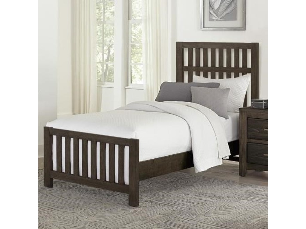 Vaughan Bassett Cottage TooTwin Panel Bed