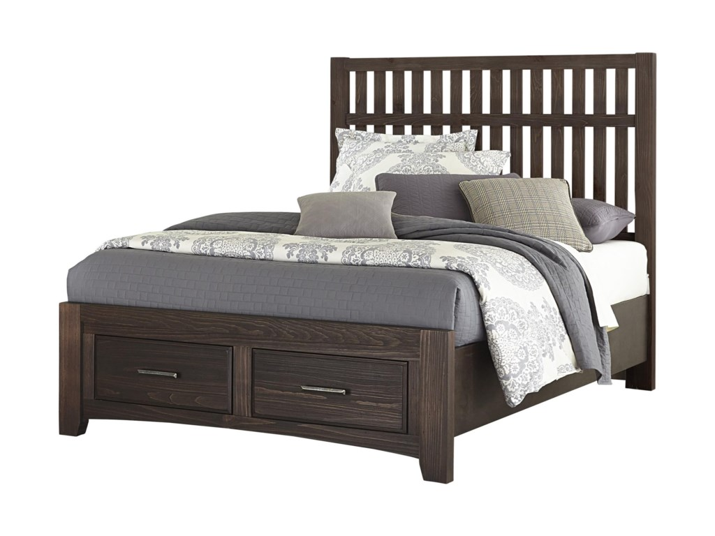 Vaughan Bassett Cottage TooQueen Storage Bed