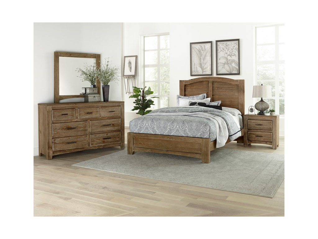 Vaughan Bassett Cottage TooTriple Dresser - 7 Drawers