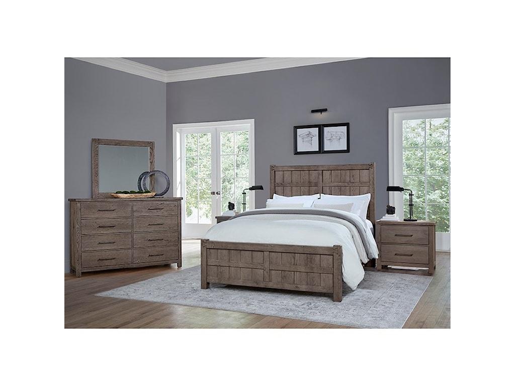 Vaughan Bassett DovetailQueen Board and Batten Bed