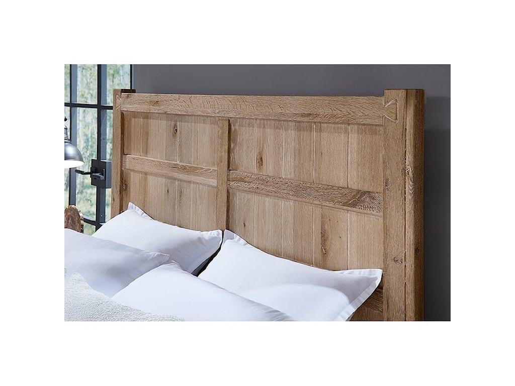 Vaughan Bassett Dovetail Queen Board and Batten Bed