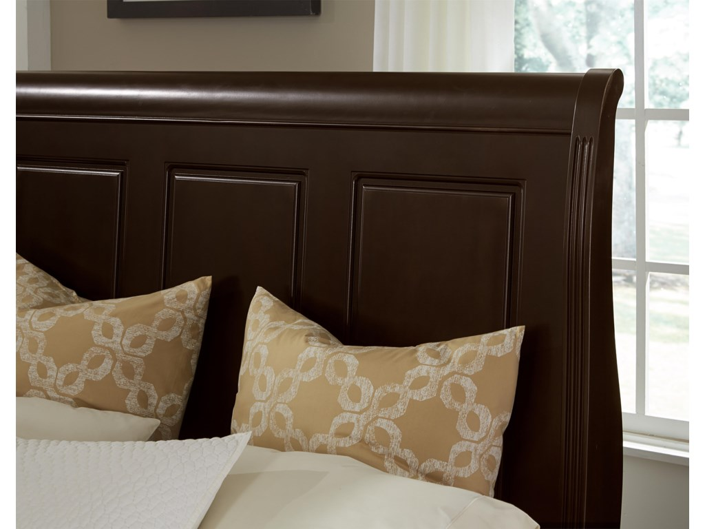 Vaughan Bassett French MarketFull Sleigh Headboard