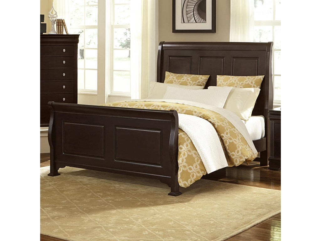 Queen Size Bed Shown. King Size Bed Has 4 Headboard Panels.