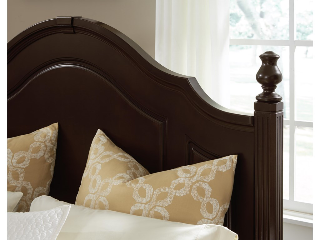 Vaughan Bassett French MarketQueen Poster Headboard