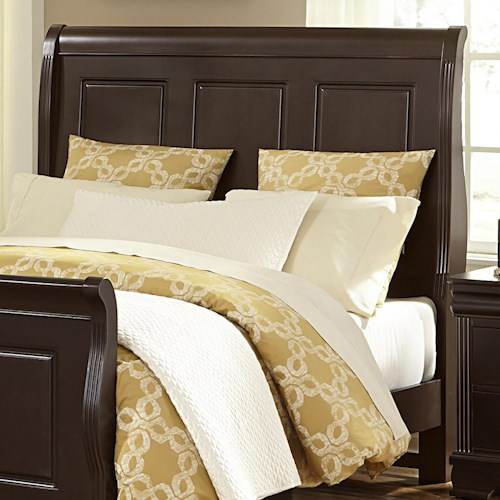 Vaughan Bassett French Market King Sleigh Headboard