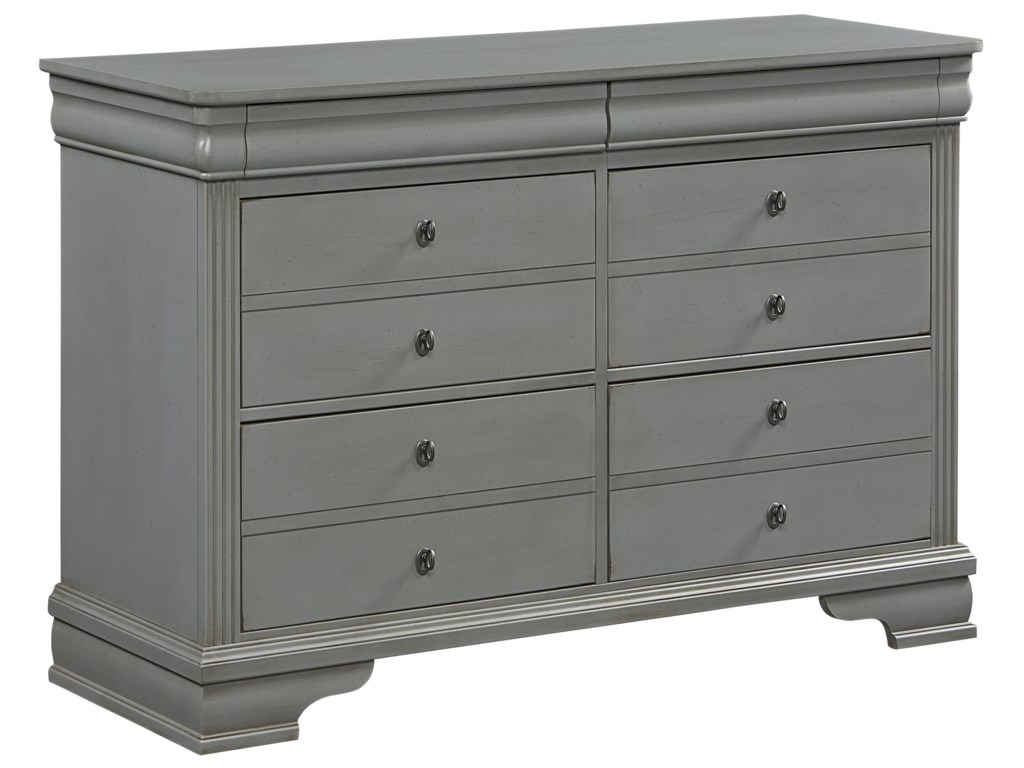 Vaughan Bassett French MarketYouth Dresser - 6 Drawers