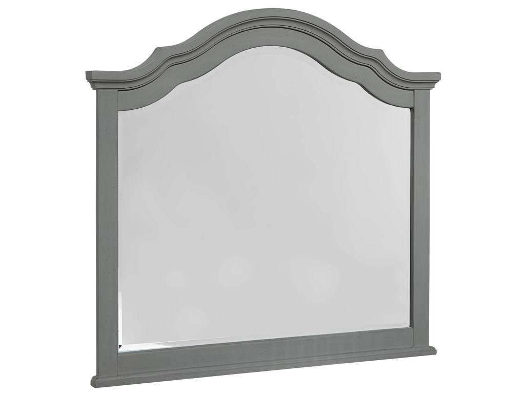 Vaughan Bassett French MarketDresser & Arched Mirror
