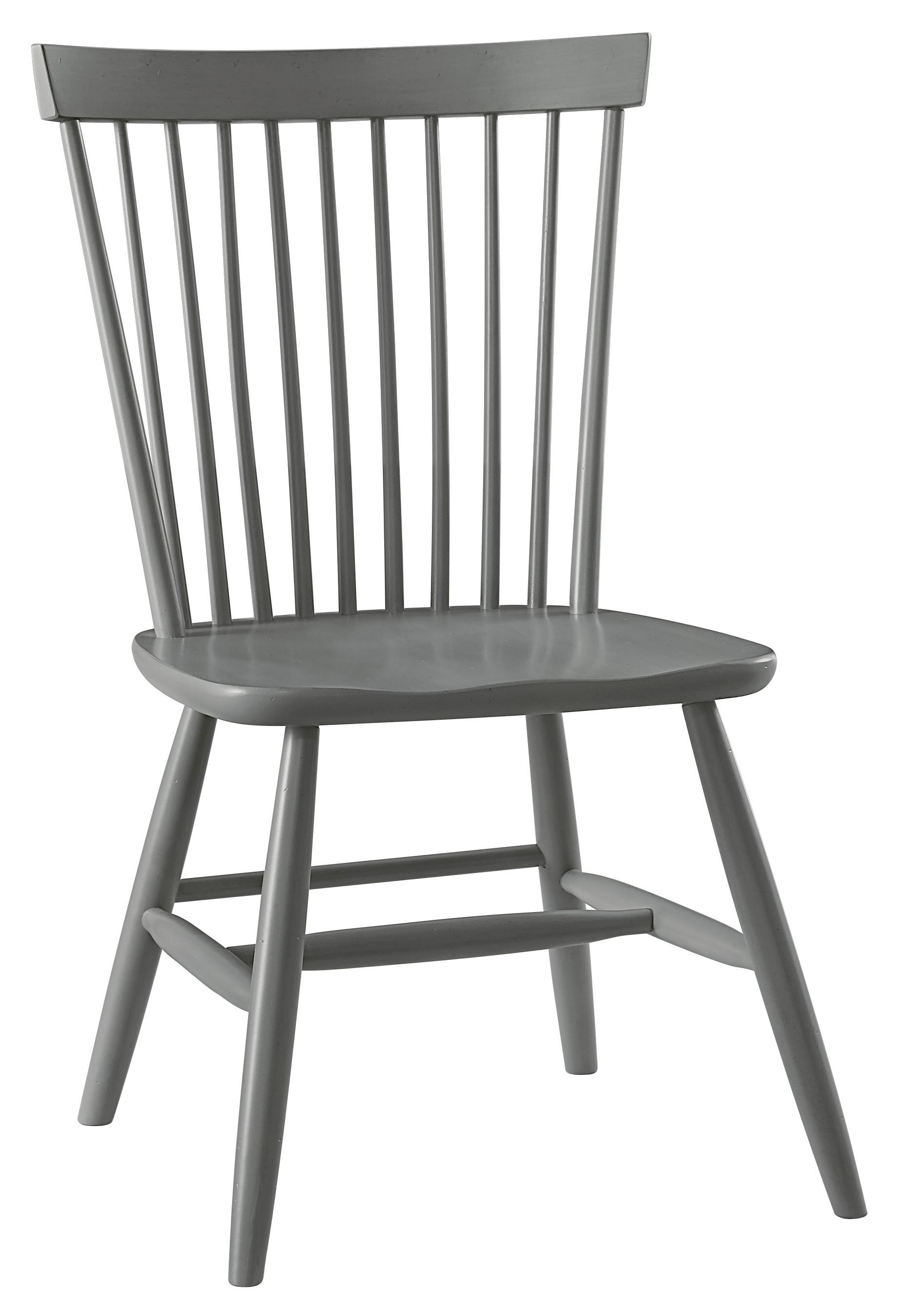 Vaughan Bassett French Market Desk Chair With Spindle Back   Great American  Home Store   Office Side Chairs