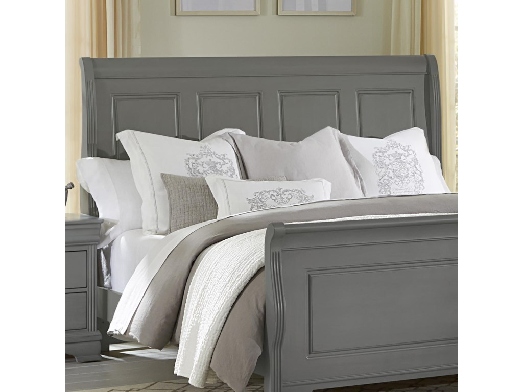 King Headboard Shown. Queen Size Has 3 Panels.