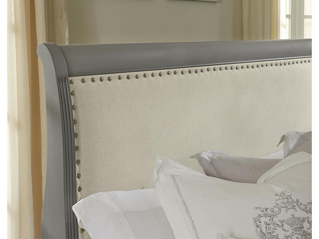Vaughan Bassett French MarketFull Upholstered Headboard (Linen)