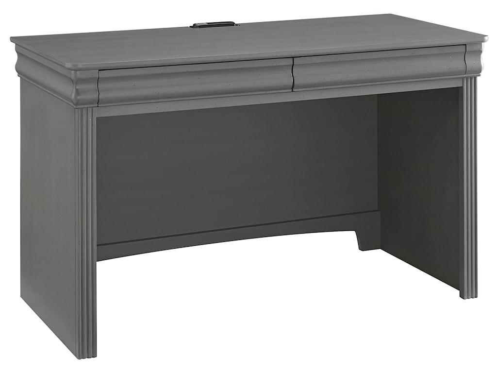 Vaughan Bassett French MarketLaptop/Tablet Desk - 2 Drawers & Power Pack