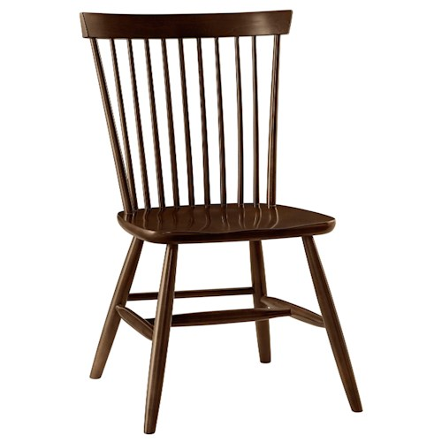 Vaughan Bassett French Market Desk Chair with Spindle Back