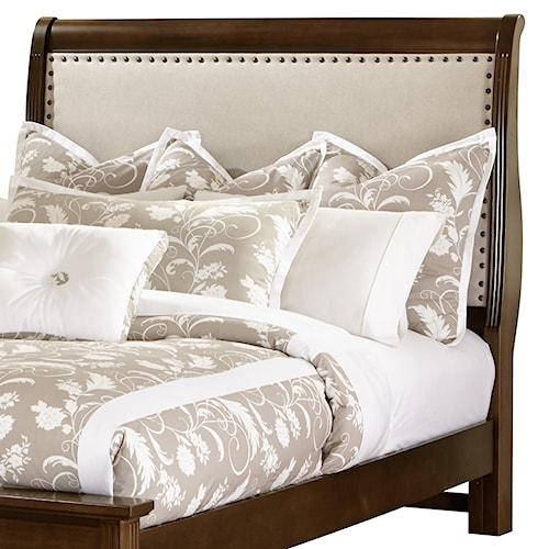Vaughan Bassett French Market King Upholstered Headboard (Linen)
