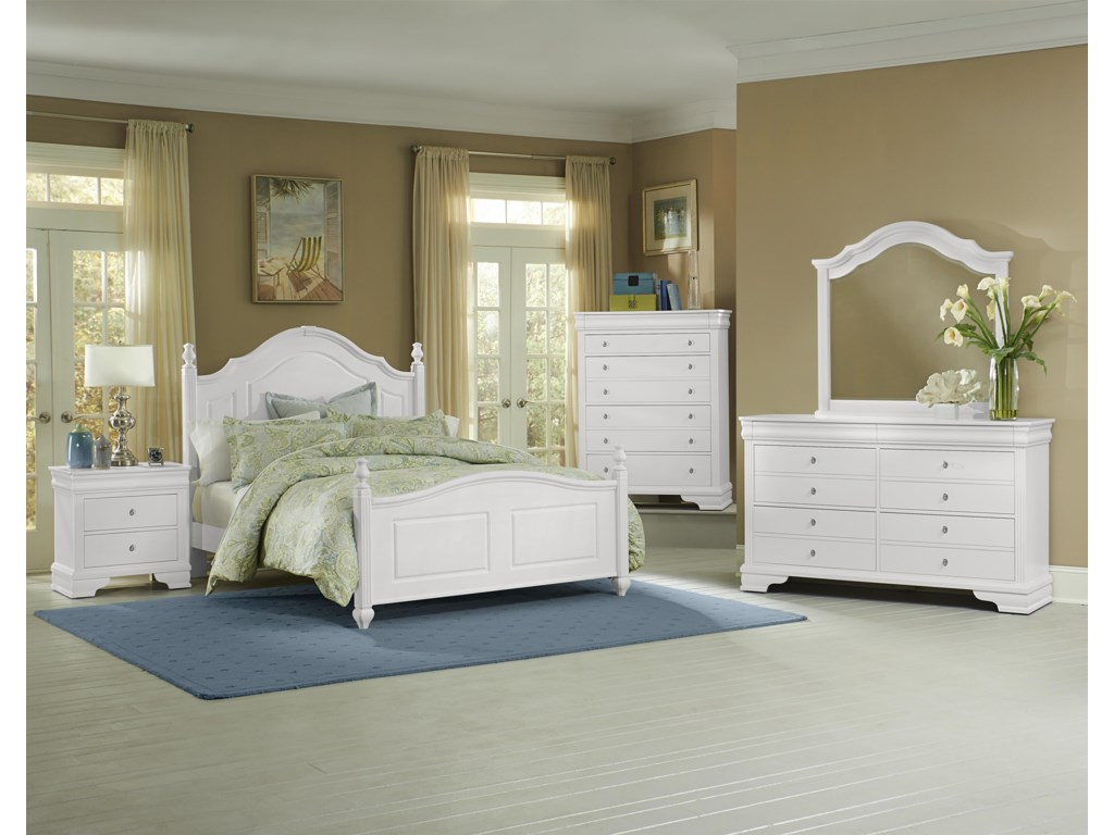 Vaughan Bassett French MarketFull Bedroom Group
