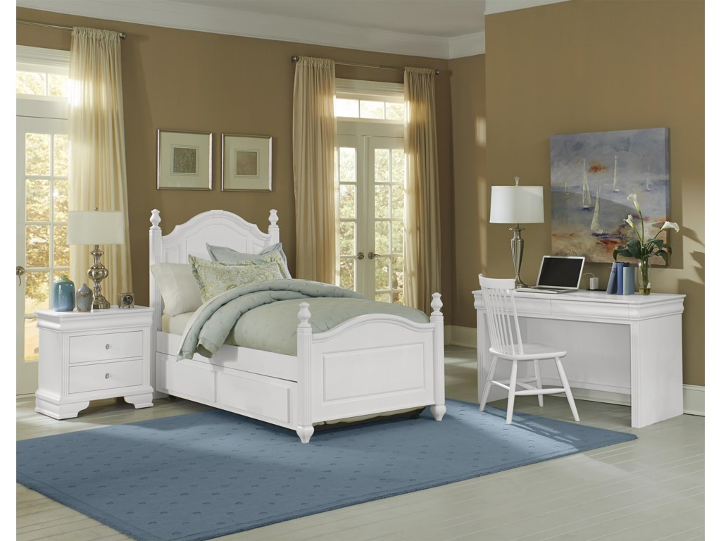 Vaughan Bassett French MarketTwin Bedroom Group
