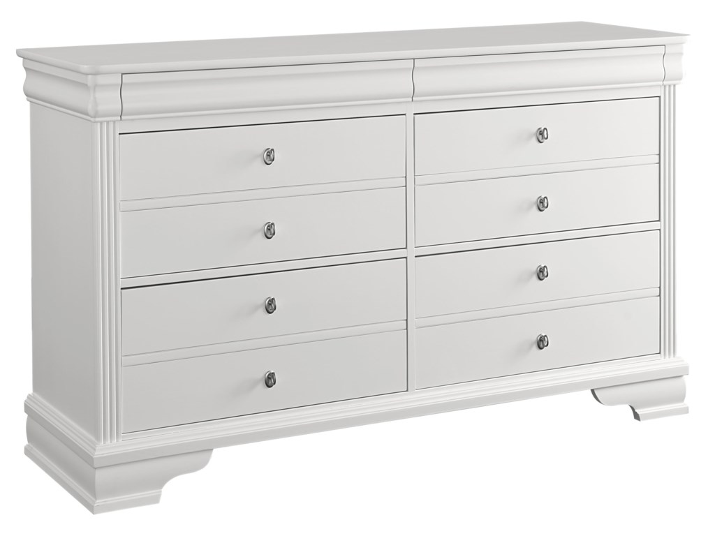 Vaughan Bassett French MarketStorage Dresser - 6 Drawers