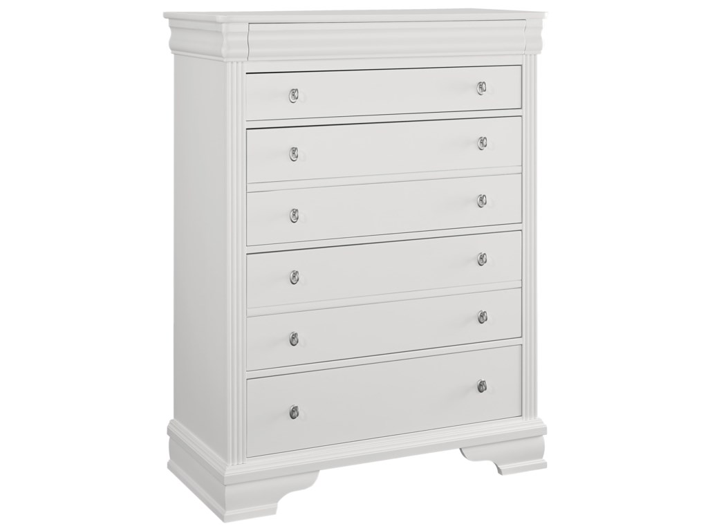 Vaughan Bassett French MarketStorage Chest - 5 Drawers