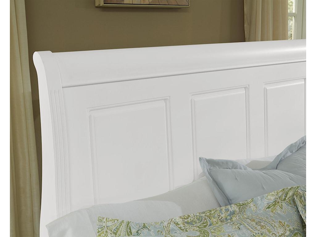 Vaughan Bassett French MarketKing Sleigh Bed