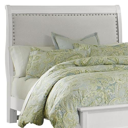 Vaughan Bassett French Market Queen Upholstered Headboard (Linen)